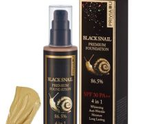 ОРИГИНАЛ!!Тональный крем Privia U Black Snail Premium Foundation 86.5% SPF 30 PA++ 4 in 1 № 21 (100